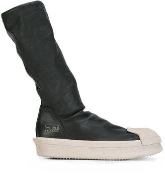 Rick Owens x Adidas sock hi-top boots $1,435 thestylecure.com