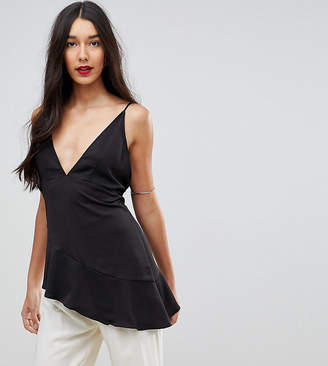 Asos Tall TALL Glam Longline Plunge Cami