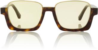 Tortoishell Square Sunglasses