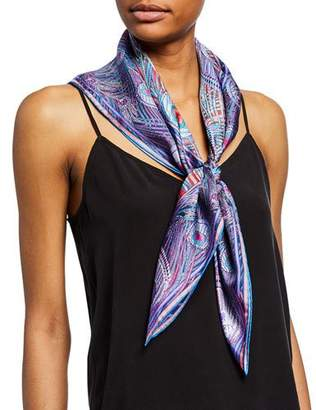 Liberty London Hera Printed Silk Scarf