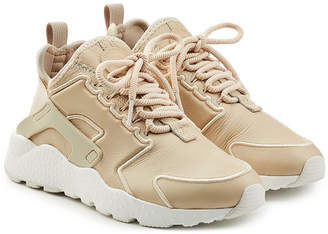Nike Hurarache Sneakers with Leather