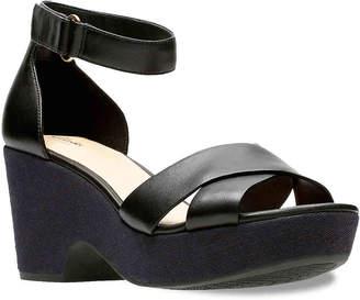809a616bcc1 Clarks Black Dress Women s Sandals - ShopStyle