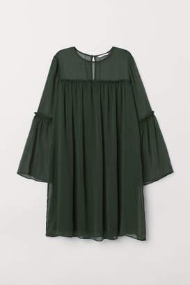 H&M Chiffon Dress - Green