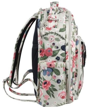 Infant Ju-Ju-Be 'Be Right Back' Diaper Backpack - Blue 2