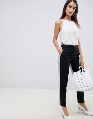 French Connection Color Block Tailored Pants