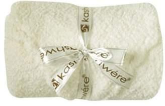Kashwere Baby Set: Blanket & Cap - Solid Crme by