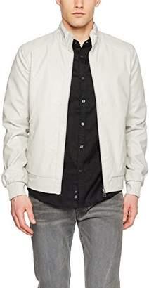 Celio Men's GUMIXTE Jacket, Beige Mastic, (Size: Medium)