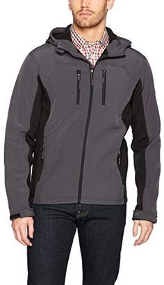 English Laundry Men's Hooded Softshell Jacket