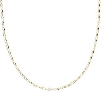 "Judith Ripka Verona Sterling 20"" Textured OvalLink Necklace"