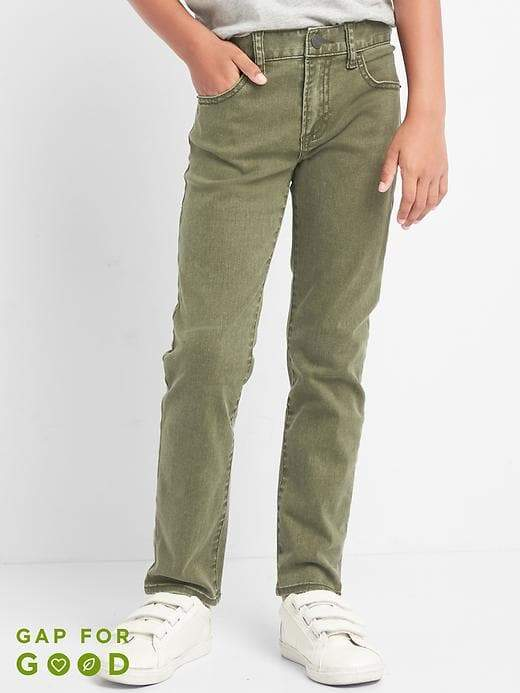 Slim Jeans in Color with High Stretch