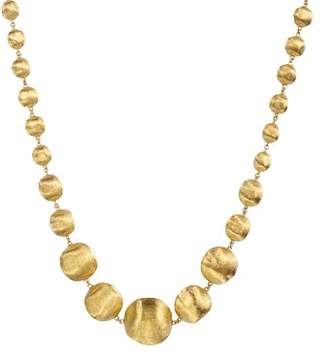 """Marco Bicego 18K Yellow Gold Africa Graduated Bead Necklace, 18"""""""