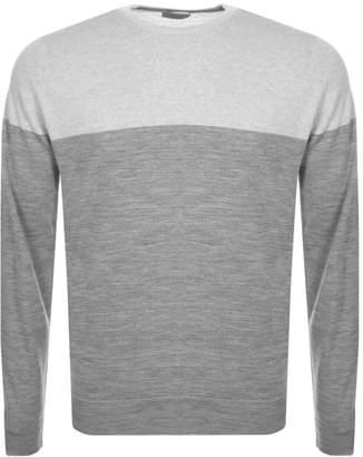 John Smedley Chaldon Knit Jumper Grey