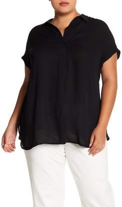 Daniel Rainn DR2 by Shirred Back Camp Shirt (Plus Size)