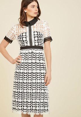 Liza Luxe Collection Classic Cornerstone Midi Dress $129.99 thestylecure.com
