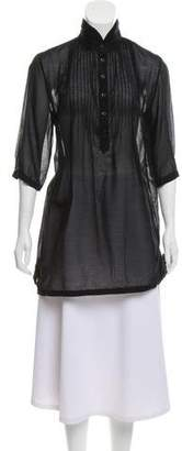 Rag & Bone Long Sleeve Button Down Tunic