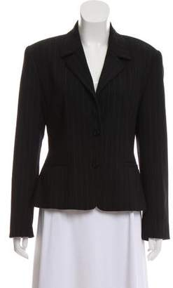 Mariella Burani Notch-Lapel Structured Blazer