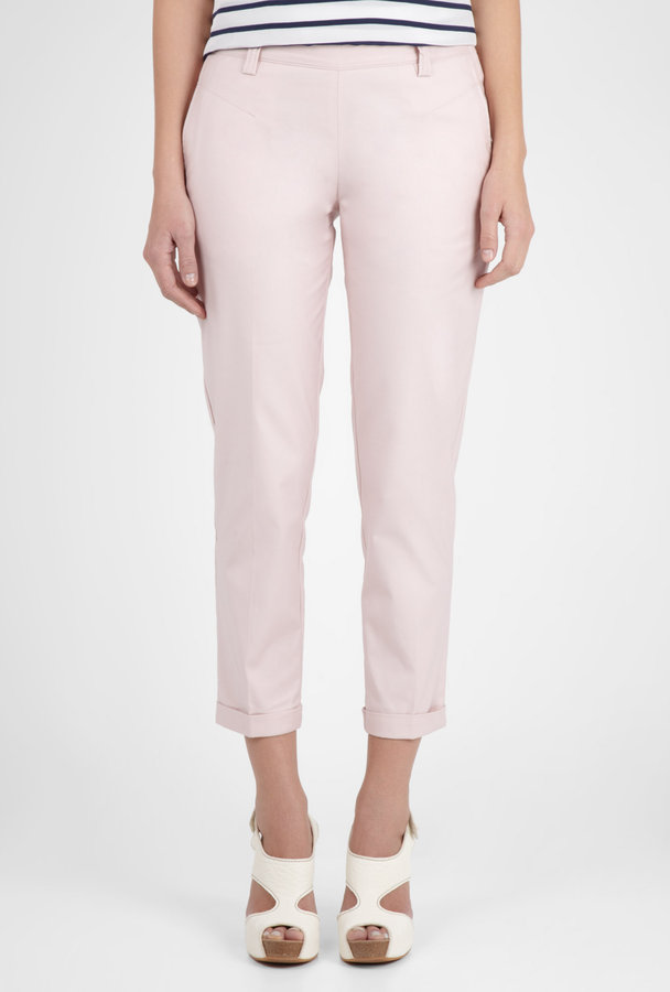 Farhi by Nicole Farhi Powder Cropped Tailored Cuffed Chino