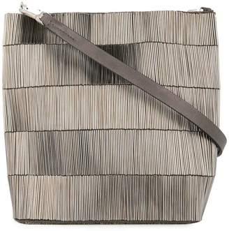 Rick Owens woven canvas bag