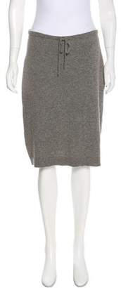 Club Monaco Cashmere Knee-Length Skirt