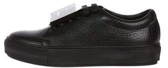 Acne Studios Adriana Grain Low-Top Sneakers