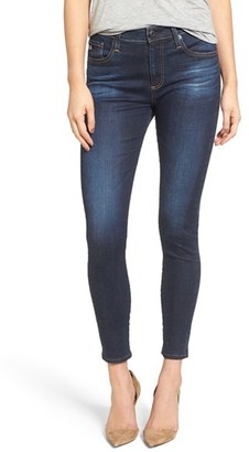 Women's Ag The Farrah High Waist Ankle Skinny Jeans $225 thestylecure.com