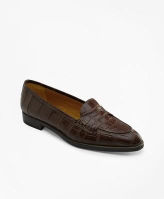 Brooks Brothers Alligator Loafers