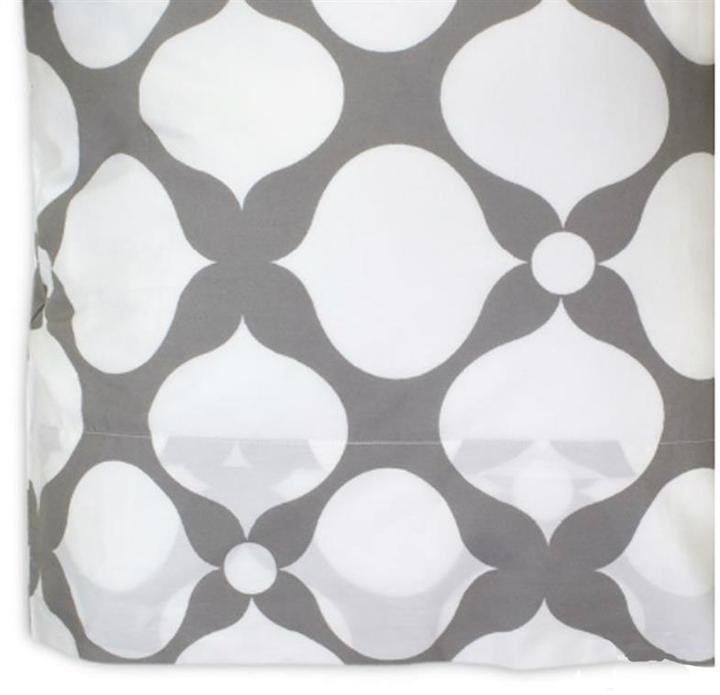 Jonathan Adler Grey Printed Hollywood Pillowcase Set