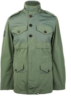 Pretty Green Men's Contrast Fabric M65 Jacket