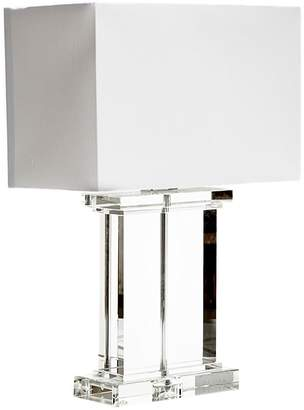 Horgans Crystal Table Lamp, Rectangular