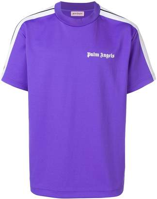 Palm Angels side stripe logo T-shirt