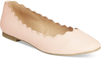 Callisto Taffy Scalloped Flats $60 thestylecure.com