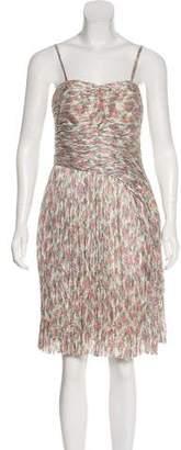 Thakoon Silk Plissé Dress