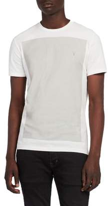 AllSaints Print Regular Fit Short Sleeve Shirt