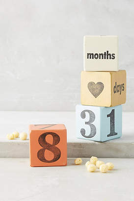Anthropologie Baby Days Blocks