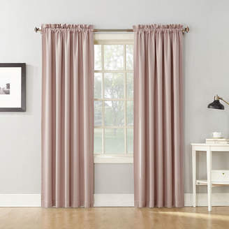Sun Zero Sun ZeroTM Emory 2-Pack Room-Darkening Rod-Pocket Curtain Panels
