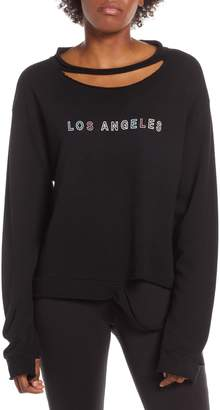 good hYOUman LA Distressed Pullover