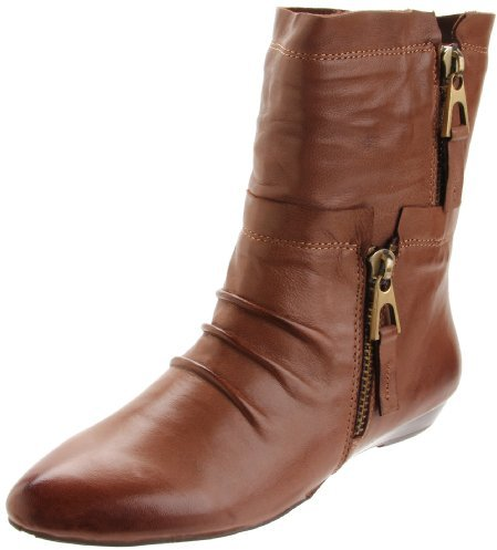 Chocolat Blu Women's Amelia Low Wedge Boot