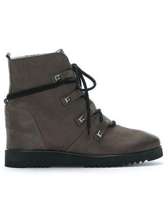 Daniel Footwear Daniel Marple Shearling Wedge Ankle Boot
