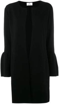 Allude wide sleeved cardi-coat