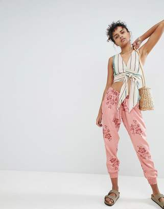 Billabong Floral Beach Pants