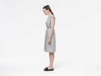 Camilla And Marc Folkdays - Vanntha Dress Silver Grey N 110 - M (97 cm length)