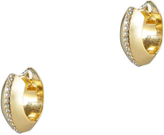 Magid Sarah Ingot Huggie Hoop Earrings
