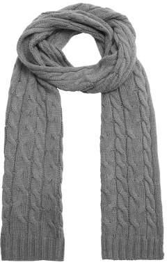 Mango Man MANGO MAN Cable-knit scarf