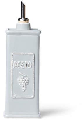 Vietri Lastra Vinegar Can - Gray