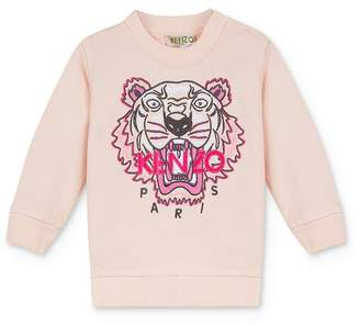 Kenzo Girls' Embroidered Tiger & Logo Sweatshirt - Baby