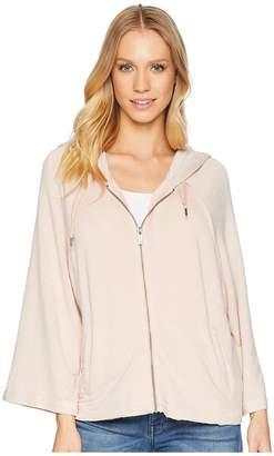 Splendid Raglan Zip Hoodie Women's Sweatshirt