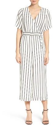 Women's Ali & Jay Stripe Culotte Jumpsuit $148 thestylecure.com