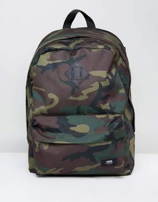 Vans Old Skool Plus Backpack In Camo V002TM97I