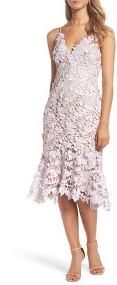 Women's Vera Wang Lace Midi Dress $325 thestylecure.com