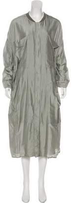 Stella McCartney Silk Lightweight Coat w/ Tags
